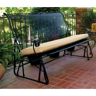 Alexandria Glider Bench by Meadowcraft