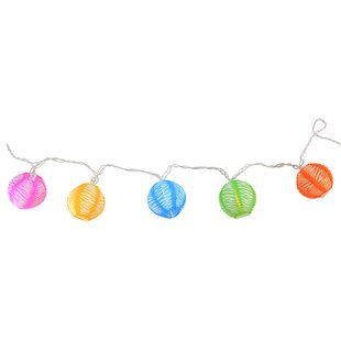 Northlight Seasonal 9.5 ft. 10-Light Lantern String Lights