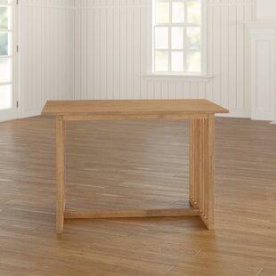 Kraft Folding Dining Table By Brambly Cottage