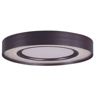 Orren Ellis Ciaran 1-Light Flush Mount