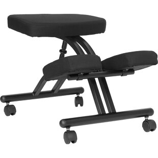 Woodsburgh Mobile Height Adjustable Kneeling Chair with Dual Chair