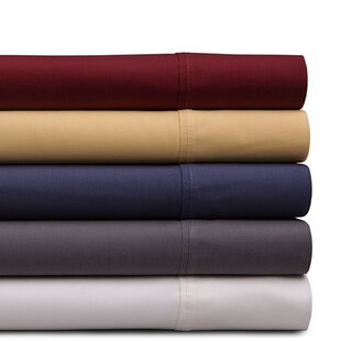 Dejuan 4 Piece 200 Thread Count 100% Cotton Sheet Set