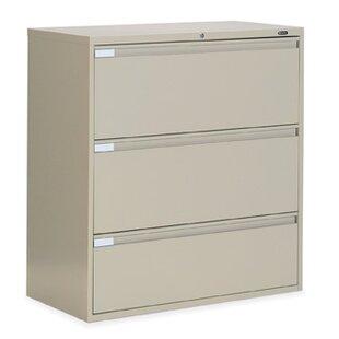 Global Total Office 9300 Series 3-Drawer File