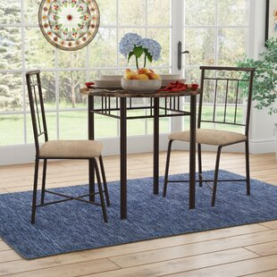 Geneseo 3 Piece Dining Set II by Andover Mills