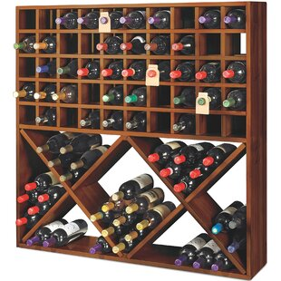 Jumbo Bin Grid 100 Bottle Floor Wine Rack