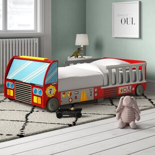Fire Truck Toddler Car Bed By KidKraft