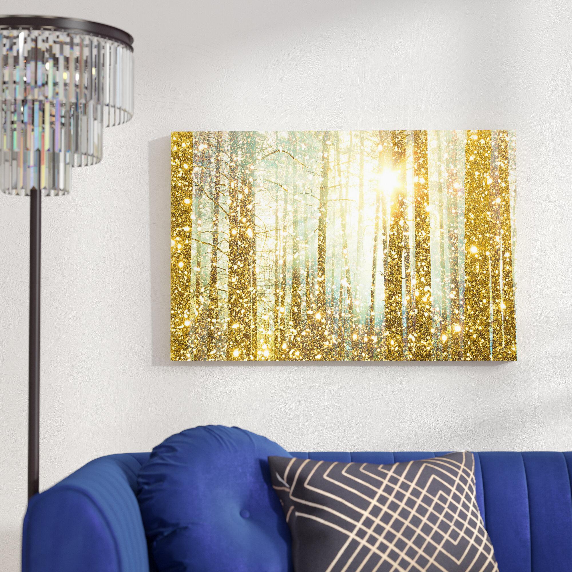 Willa Arlo Interiors \'Magical Forest Fashion Art\' & Reviews | Wayfair