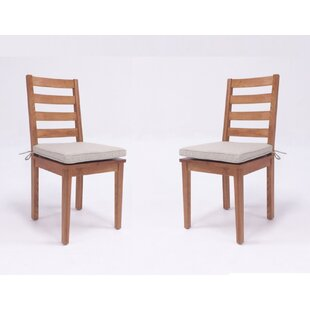 Zimmer Solid Wood Dining Chair (Set of 2)