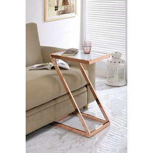 Affordable Kloss Modern Metal End Table By Everly Quinn