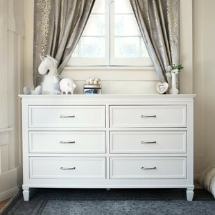 Million Dollar Baby Classic Darlington 6 Drawer Double Dresser
