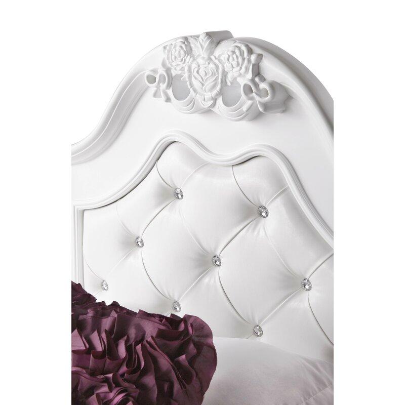 Viv Rae Lydia Tufted Upholstered Storage Platform Bed Reviews