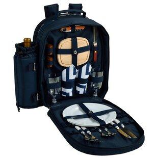 Chevron 2 Person Picnic Backpack