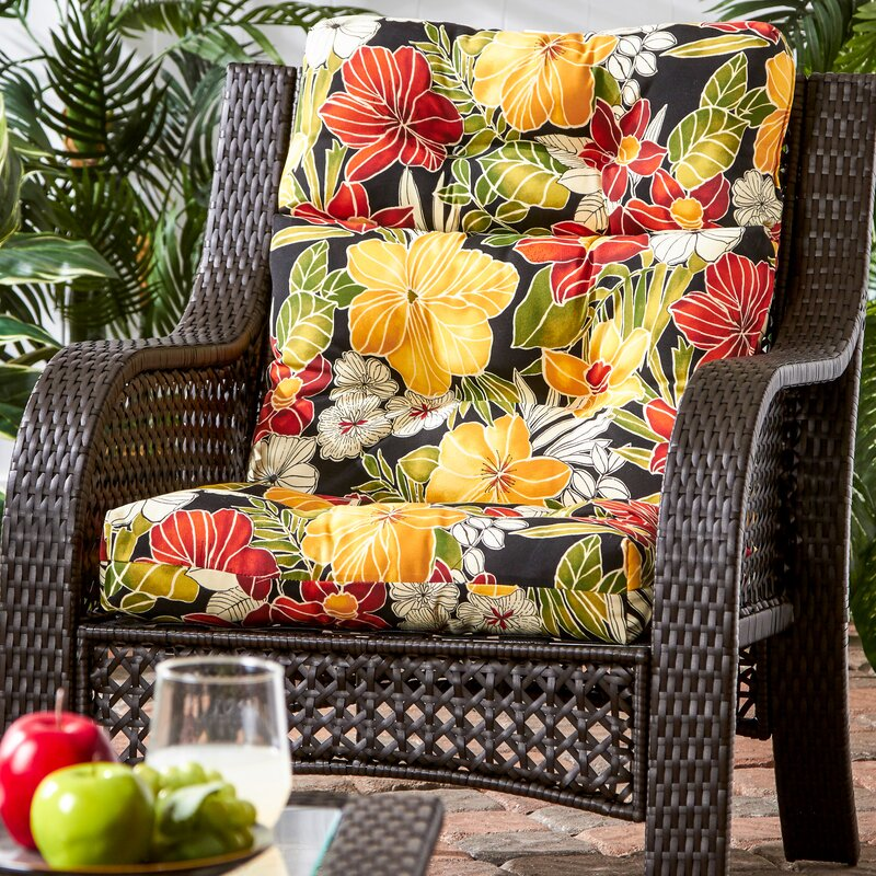 Sarver Indoor Outdoor Lounge Chair Cushion