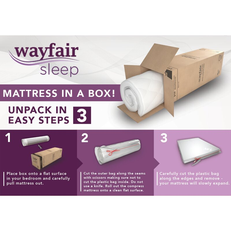 Wayfair Sleep Wayfair Sleep 10 Firm Memory Foam Mattress Wayfair