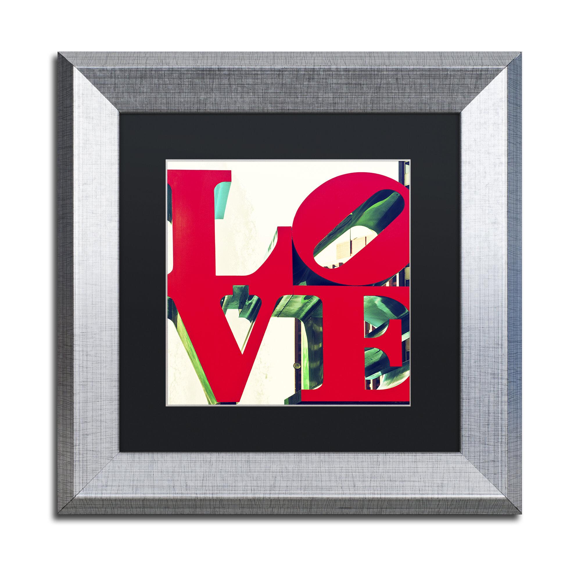 Trademark Art Love By Philippe Hugonnard Framed Photograph On Canvas Wayfair