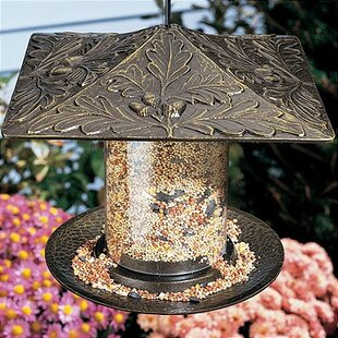 Whitehall Products Oakleaf Tube Bird Feeder