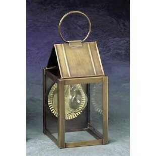 Deals 300 Series 1-Light Outdoor Wall Lantern By Brass Traditions