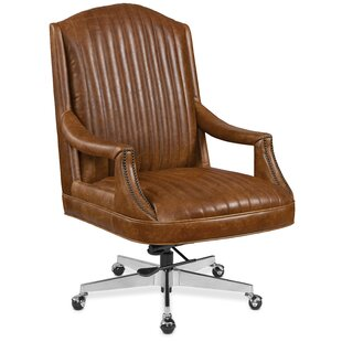 Claybrook Genuine Leather Executive Chair by Hooker Furniture