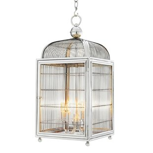 Falcon 4-Light Lantern Pendant by Eichholtz