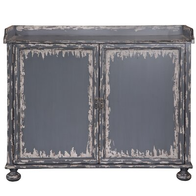 Bryony Distressed Bar Cabinet by August Grove