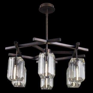 Fine Art Lamps Monceau 6-Light Shaded Chandelier