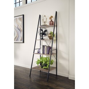Read Reviews Almanzar Ladder Bookcase By Mercury Row