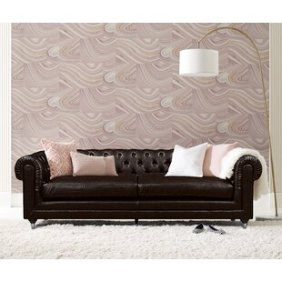 Amery Tufted Chesterfield Sofa by Elle Decor Bargain