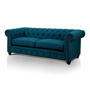 Shop Lindstrom Chesterfield Sofa by Darby Home Co