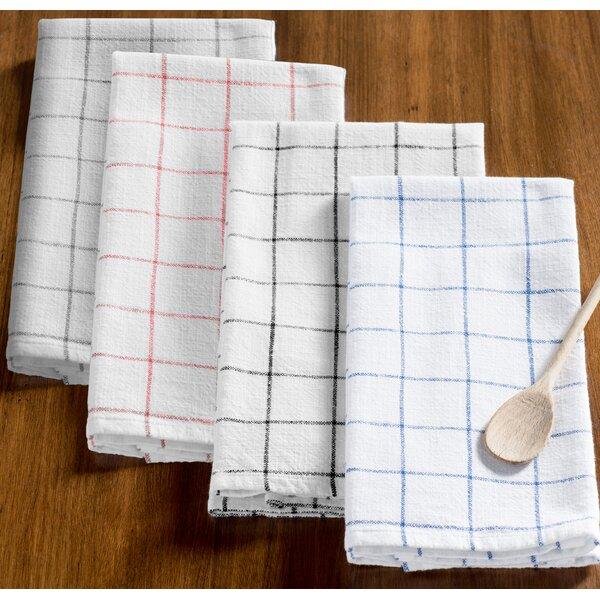 Zinia Grid Kitchen Hand Towel | Birch Lane