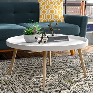 Adobe Coffee Table with Tray Top