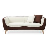 Batch Modular Square Arms Loveseat by Orren Ellis