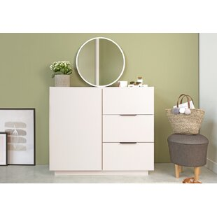 Lujan 3 Drawer Combi Chest By Norden Home