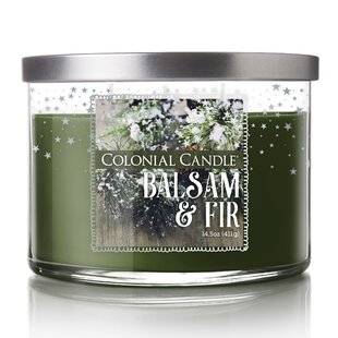 Balsam Fir Scented Jar Candle