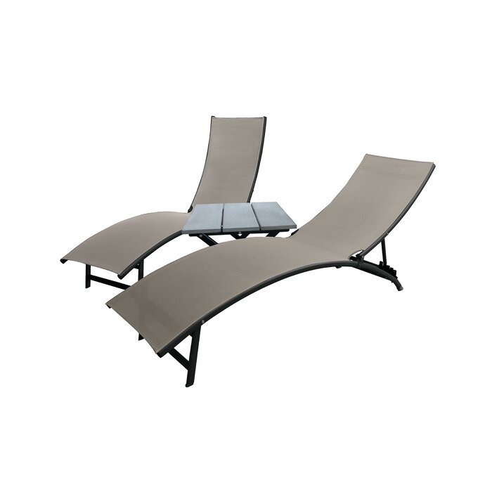 wood by vifah lounge garden finish single amazon outdoor natural dp chaise inch com