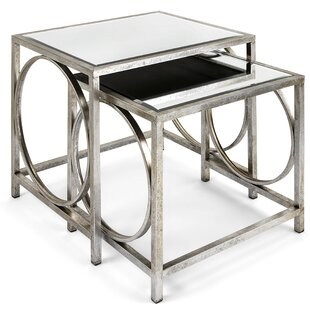 Sepulveda Mirror 2 Piece Nesting Tables