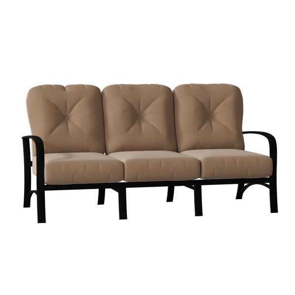 Woodard Fremont Patio Sofa With Cushions Wayfair Ca