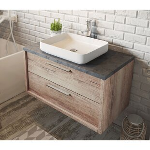 Nataly 900mm Wall Hung Single Vanity Unit By Belfry Bathroom