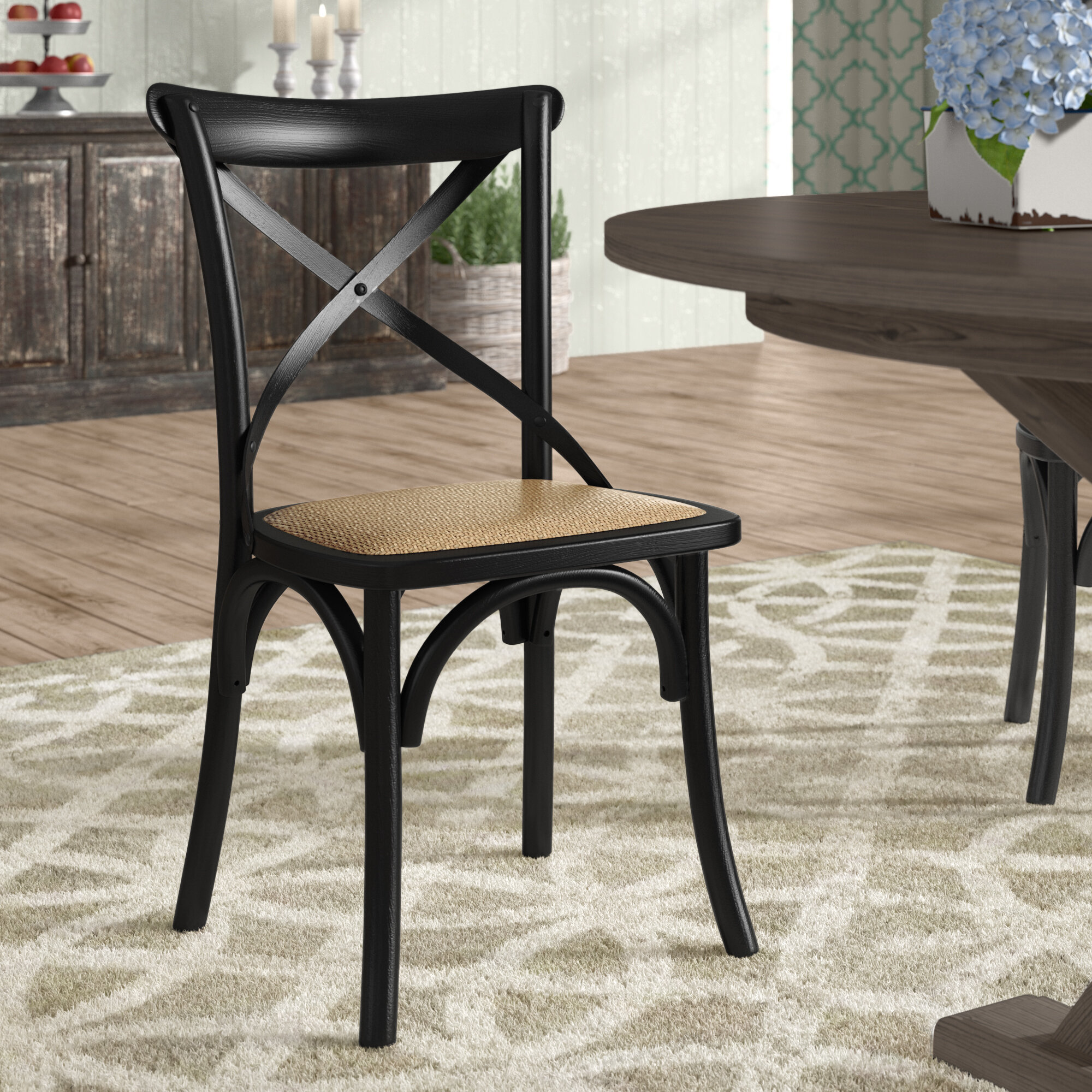 Laurel Foundry Modern Farmhouse Gage Solid Wood Dining Chair