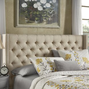 Compare & Buy Crawley Upholstered Wingback Headboard by Three Posts