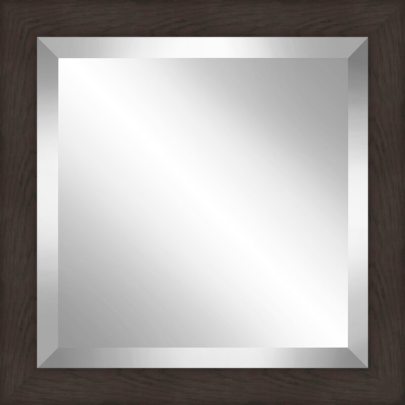 Orren Ellis 1 875 Frame Square Beveled Plate Accent Mirror Wayfair