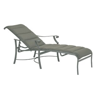 Tropitone Montreux Padded Sling Reclining Chaise Lounge