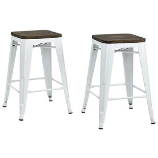 Fortuna 24 Bar Stool (Set of 2) Trent Austin Design