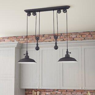 Trent Austin Design Ariel 2-Light Kitchen Island Pendant