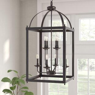 Gracie Oaks Cleona 8-Light Foyer Pendant