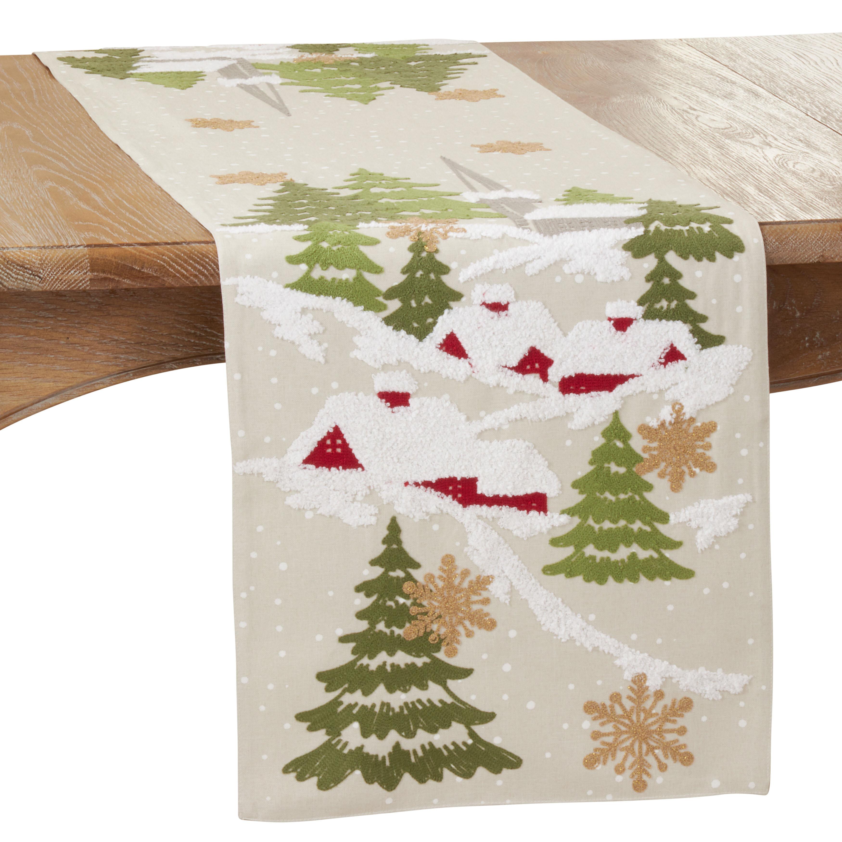 The Holiday Aisle Izumi Christmas Table Runner Wayfair