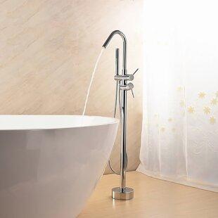 Jade Bath Lory Double Handle Floor Mounte..
