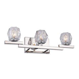 House of Hampton Haslemere Bath 3-Light Vanity Light