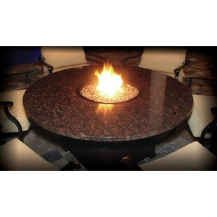 Firetainment Alfresco Naples Aluminum Natural Gas Fire Pit Table