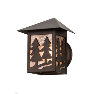 Meyda Tiffany Greenbriar Oak Outdoor Flush Mount