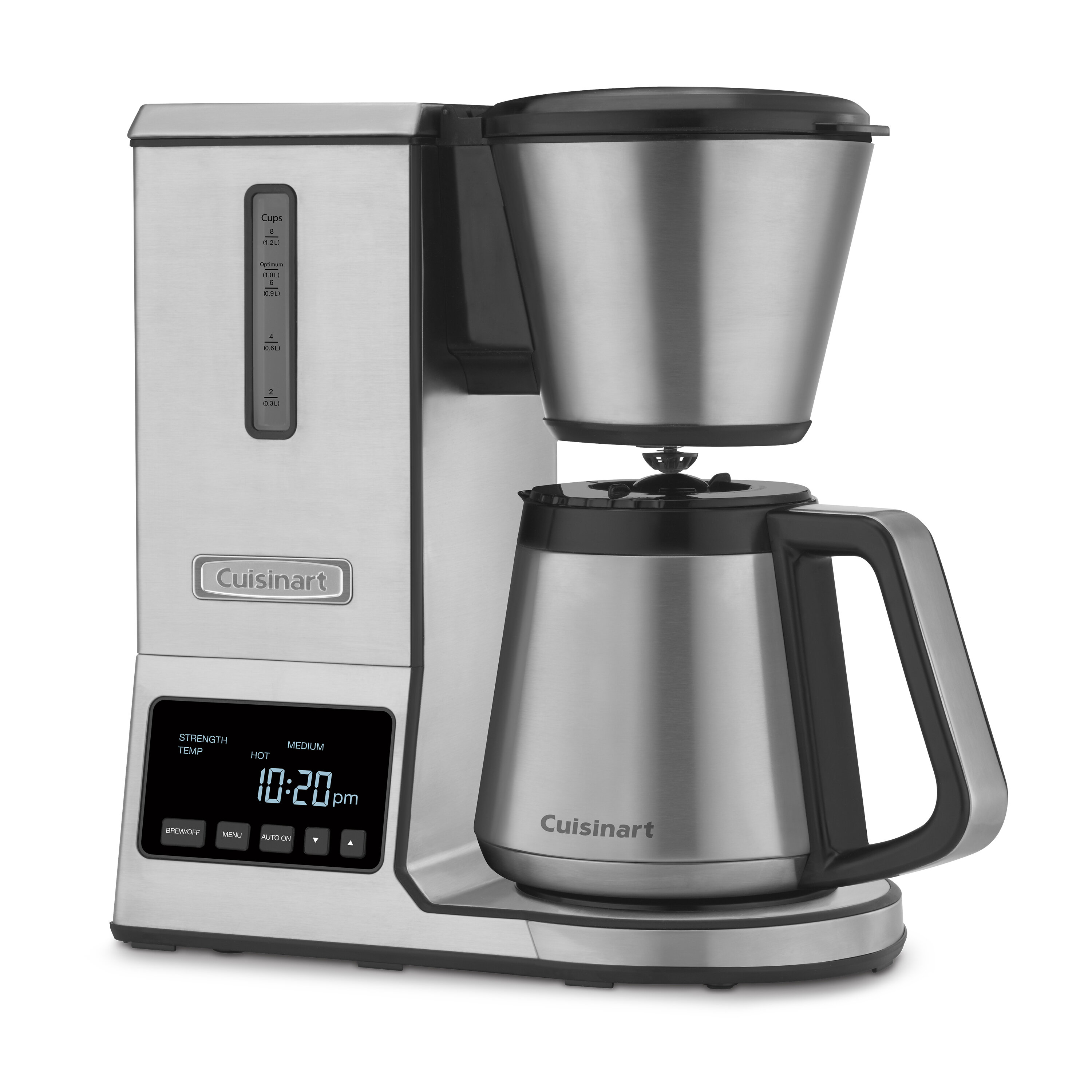 Cuisinart 8 Cup Thermal Pure Precision Coffee Maker Reviews Wayfair
